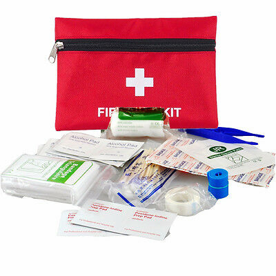 63 Piece Mini First Aid Kit For Emergency Safety Travel Sports Home Office Car