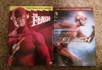 The Flash Complete Series and Season 1 DVDs