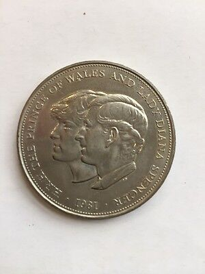 1981 Royal Wedding Commemorative Coin Charles And Diana