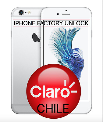b0ab0afe6af FACTORY UNLOCK ENTEL CHILE / CLARO Chile iPhone7+ 7 SE 6S+ 6S 6+ 6 ...