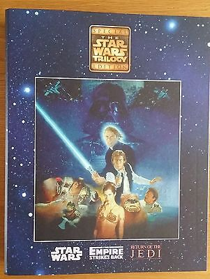 Star Wars Trilogy Complete 50 Pcs Movie Shots In BInder Special Ed. Smiths RARE