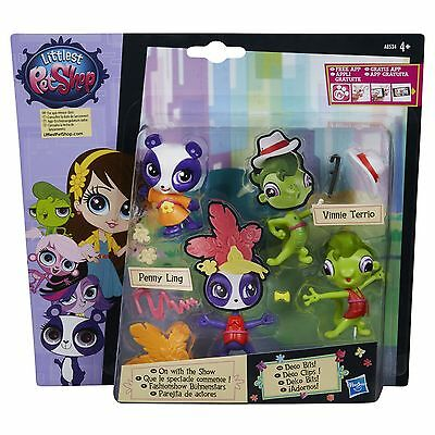 Littlest Pet Shop ON WITH THE SHOW Pet Pair: Penny Ling & Vinnie Terrio (A8534)