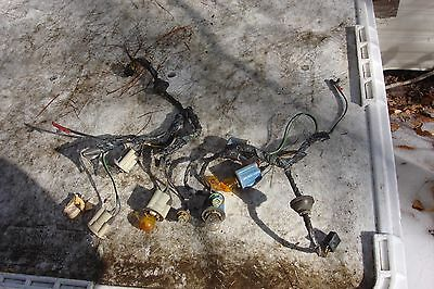 1972 Pontiac GTO/Lemans Tail Light Wiring Harness,Original, VERY GOOD !