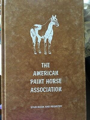 The American Paint Horse Association Stud Book And Registry 1976 Vol 5