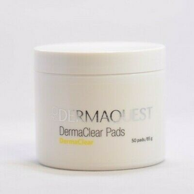 Dermaquest DermaClear Pads 50pads NEW FAST SHIP EXP 11/2021