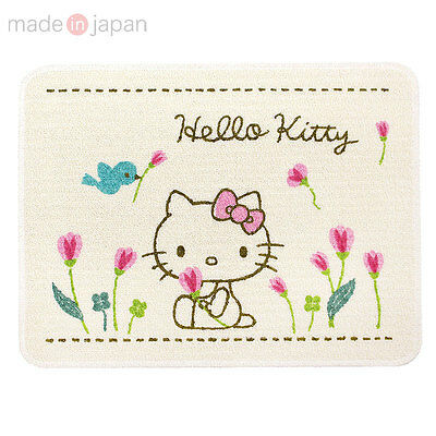 F S Sanrio Hello Kitty Bath Mat Flower So Cute Made In Japan