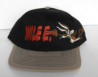 RARE The Looney Tunes Wile e. Coyote Baseball Cap Adults Head Start 1995 MINT