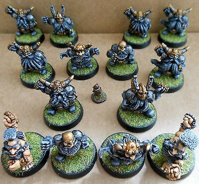 1994 Dwarf Bloodbowl 3rd Edition Citadel Pro Painted Grudgebearers Football Team