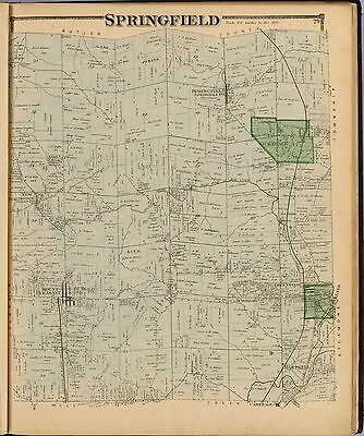 HAMILTON COUNTY OHIO Atlas 1869 GENEALOGY plat maps state old LAND OWNER DVD P10