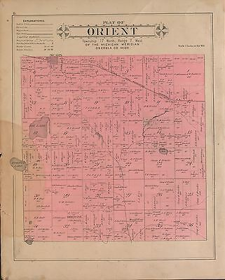 GREENE COUNTY OHIO 1896 atlas plat maps old GENEALOGY history DVD P99