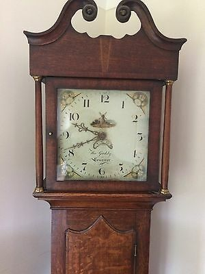Antique Grandfather Clock, 30 Hour, by Thomas Gadsby