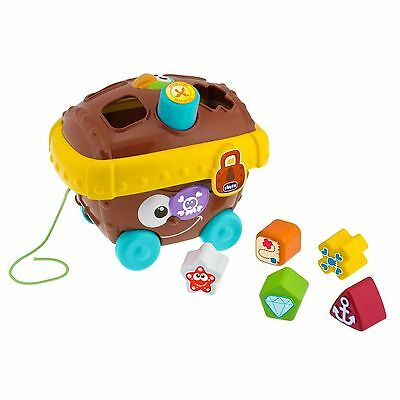 New Chicco Pirate Chest Shape Sorter Baby's Activity Toy