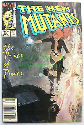 New Mutants #25 NEWSSTAND VARIANT 1st Cameo LEGION David Haller FX TV X-Men KEY