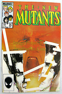 New Mutants #26 ☆ 1st Full LEGION Appear ☆ FX TV Series David Haller ☆ X-Men KEY
