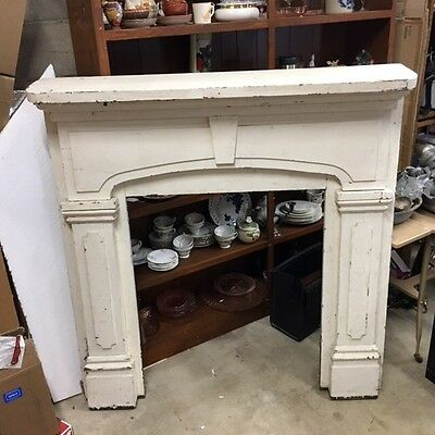 Vintage Early 1800's Pine Mantle