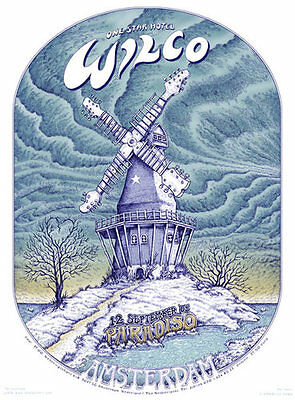 Emek Wilco Paradiso Amsterdam 2005 Limited Edition Silkscreen Poster