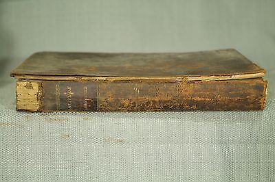 antique old leather book 1813 Meditations Religious subjects James Meikle