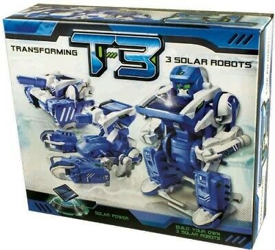 T3 Transforming Solar Robots - Johnco Productions