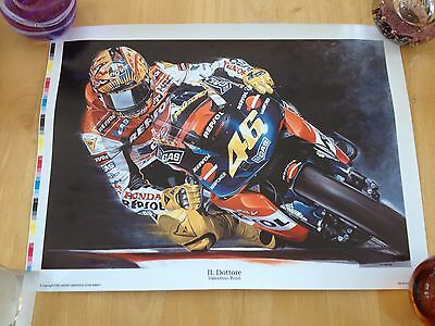 Large Motorcycle Print - IL DOTTORE - VALENTINO ROSSI