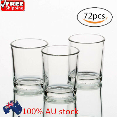 72pcs Glass Votive Candle Holders Clear Tealight Holder For Event Wedding Decor