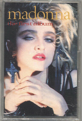 Musicassetta - MADONNA - The first album - MAI ASCOLTATA - UNPLAYED