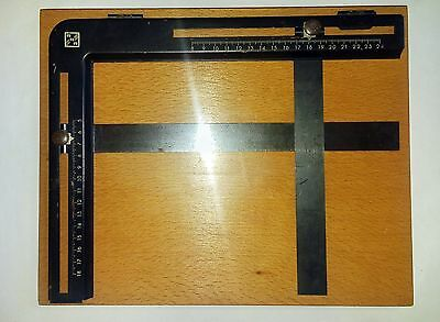 Vintage Soviet USSR Contact Print / contact Trays Frame Darkroom sign RRR