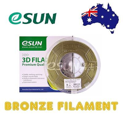 eSUN Bronze 3D Printer Filament 1.75mm & 3mm 0.5kg