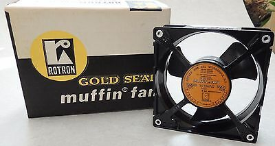 New Old Stock Rotron Gold Seal Muffin Fan 115V Made in USA