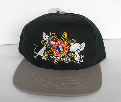 RARE ANIMANIACS Let's Rule the world Baseball Cap Adults Head Start 1995 MINT