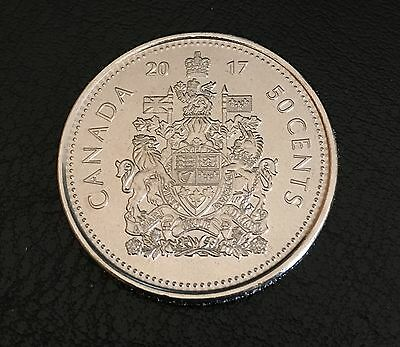 2017 Canada Half Dollar $1 Fifty Cent 50¢ Piece 150 Anniversary Coin From Mint R