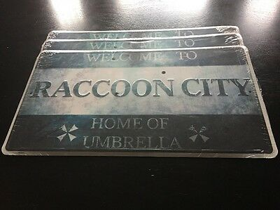 Resident Evil Home Of UMBRELLA Metal Sign LIMITED Edition RE6 Promo NEW