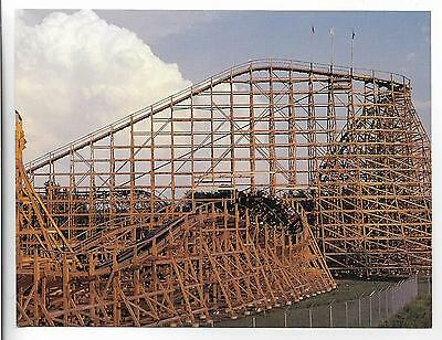 Os,the Timber Wolf Roller Coaster,worlds Of Fun~Kansas City,mo~~What A Ride