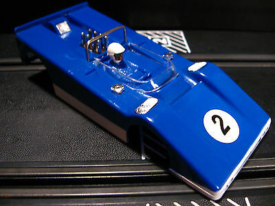 Strombecker N.O.S. Blue Olds Powered Special Body 1/32 Scale Slot cars