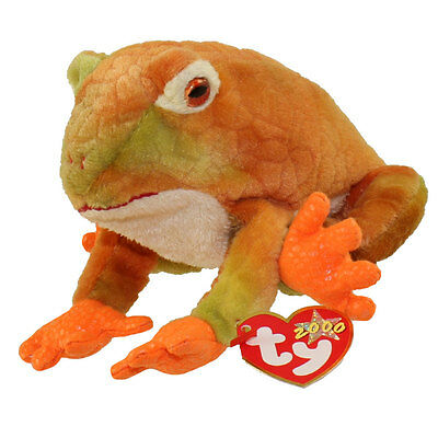 TY Beanie Baby - PRINCE the Frog (8 inch) - MWMTs Stuffed Animal Toy
