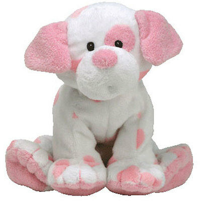 BabyTY - BABY PUPS PINK the Dog (9 inch) - MWMTs Stuffed Animal Toy