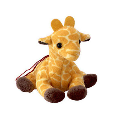 TY Jingle Beanie Baby - TWIGS the Giraffe (3.5 inch) -MWMTs Holiday Ornament Toy