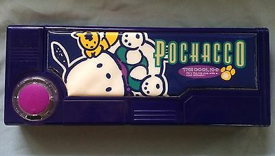 Sanrio Pochacco Multi Function Pencil Case with Pop Out Compartments RARE 1996