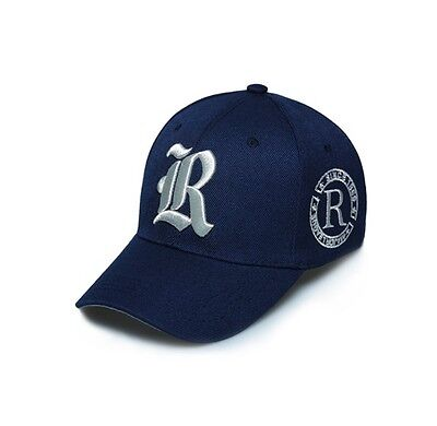 Baseball Cap R Lettering Embroidery Casual Cotton Hat HipHop Snapback Fashion HR