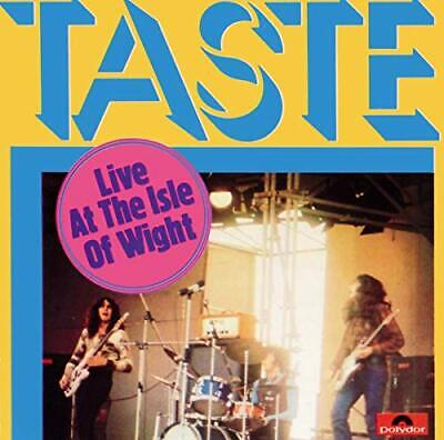 Taste - Live At The Isle Of Wight - Taste CD CUVG The Cheap Fast Free Post The