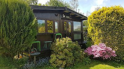 FOR SALE - Holiday home Chalet, Wales. Near Brecon & Builth wells Stunning site