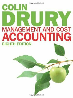 Management and Cost Accounting: Student Manual by Drury, Colin Book The Cheap