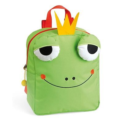 Croacky The Frog Backpack - Small Green