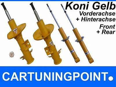 Koni Shock Absorber Set Front+Rear for Mercedes E-class W210 Sedan Sport Yellow