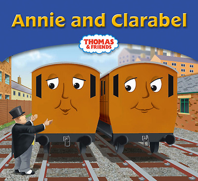 Thomas The Tank Engine And Friends Book. Annie And Clarabel. No 34.