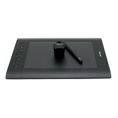 Huion H610 Pro - Graphic Tablet Drawing With Bag and Drawing Glove G7Y4