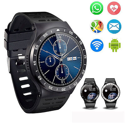ZGPAX S99A Bluetooth 3G SIM GPS WiFi Smart Watch Phone Pedometer For Android