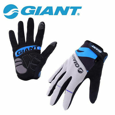 GIANT Cycling Gloves Full Finger Touch Screen Cycling breathable silicone Gel