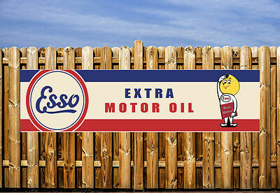 Extra Motor Oil Logo Pvc Banner - Workshop, Garages & Bedroom