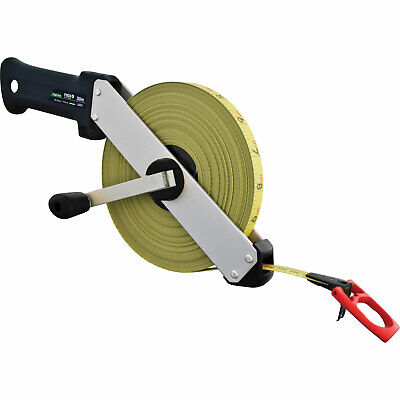 Fisco Tracker Tape Measure Imperial & Metric 100ft / 30m 13mm