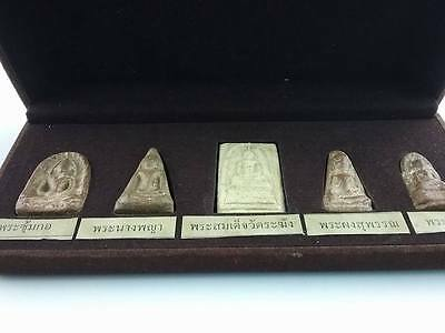 RARE 100% Collection Of TOP 5 PIM THAI AMULETS BUDDHA PHRA BENJAPAKEE  HOLY